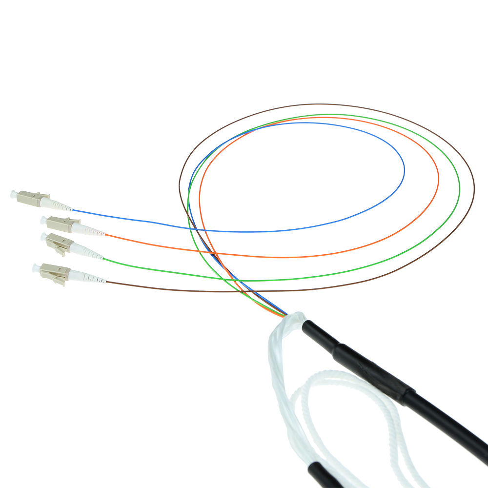 ACT 20 meter Multimode 50/125 OM3 indoor/outdoor cable 8 fibers with LC connectors