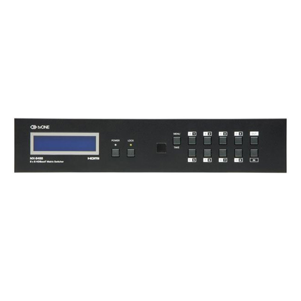 tvONE MX-8488 8x8 HDMI matrix switch