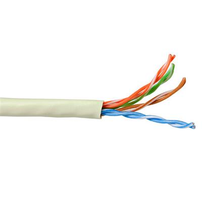 ACT CAT5E U/UTP stranded patch ivory 100 m