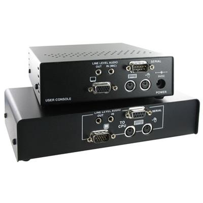 Ihse K434-1A SDBX VGA | PS/2 KVM extender and RS-232 with audio