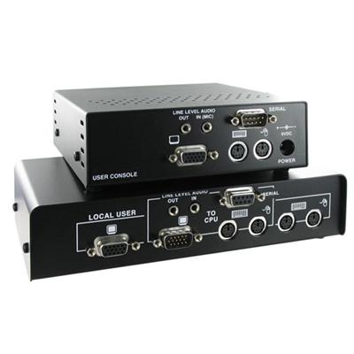 Ihse K434-DA SDBX loopthrough KVM extender with RS-232 with audio