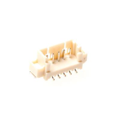 MPE-Garry 427-1-007-0-T-KS0 7 polige PCB wire to board male chassisdeel met 1,25 mm raster