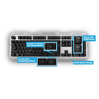 Ewent Play Gaming Toetsenbord, USB, AZERTY Layout