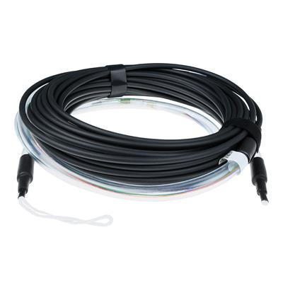 ACT 110 meter Multimode 50/125 OM3 indoor/outdoor cable 4 way with LC connectors