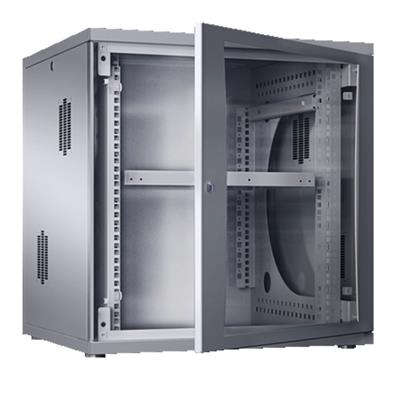 Rittal 7507.110 Wall enclosure flatbox 19 inch, 9 U, 60 cm wide, 49 cm high, 60 cm depth